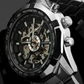 Winner Watch Men Skeleton Automatic Mechanical Watches Skeleton Sport Watch Man Clock Mens Watch Top Brand Relogio Masculino