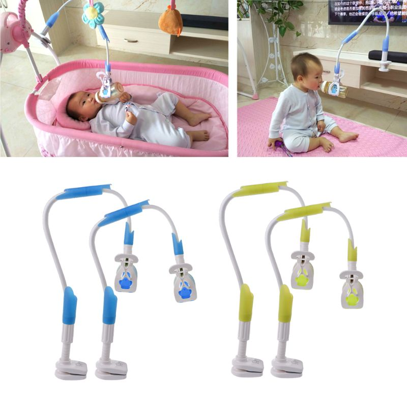 Baby Bottle Drying Rack Free Baby Feeding Bottle Holder Milk Holder Support Clip 85cm 95cm Green Blue Color holder for baby bottle