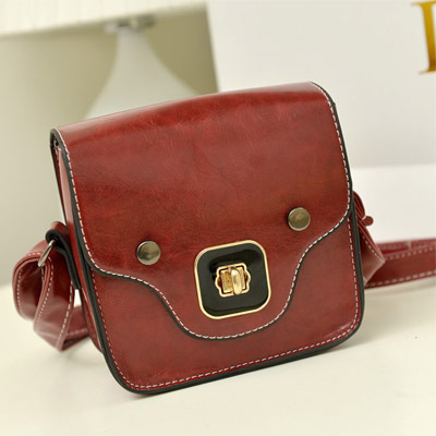 2016 New Women bag Ladies Rivet leather Crossbody Shoulder bag Small Mini Party bags High quality