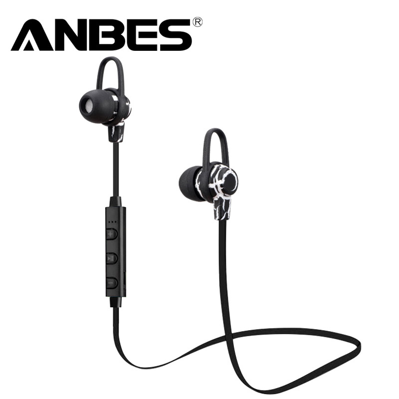 New Wireless Bluetooth Headphone V4.0 Sports Earphone Gym Headset with Mic Earbuds Universal for iPhone Xiaomi Mobile Phone