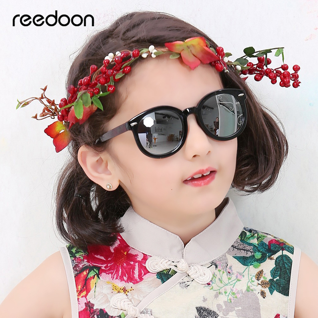 088e79a930f Reedoon Kids Sunglasses Polarized HD Mirror Lens UV400 PC Frame Baby Fashion  Sun Glasses Cute For