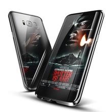 Металлический бампер для Samsung Galaxy S8 чехол ультра тонкий Алюминий Рамки для Galaxy S8 чехол противоударный for Samsung S8 плюс Чехол