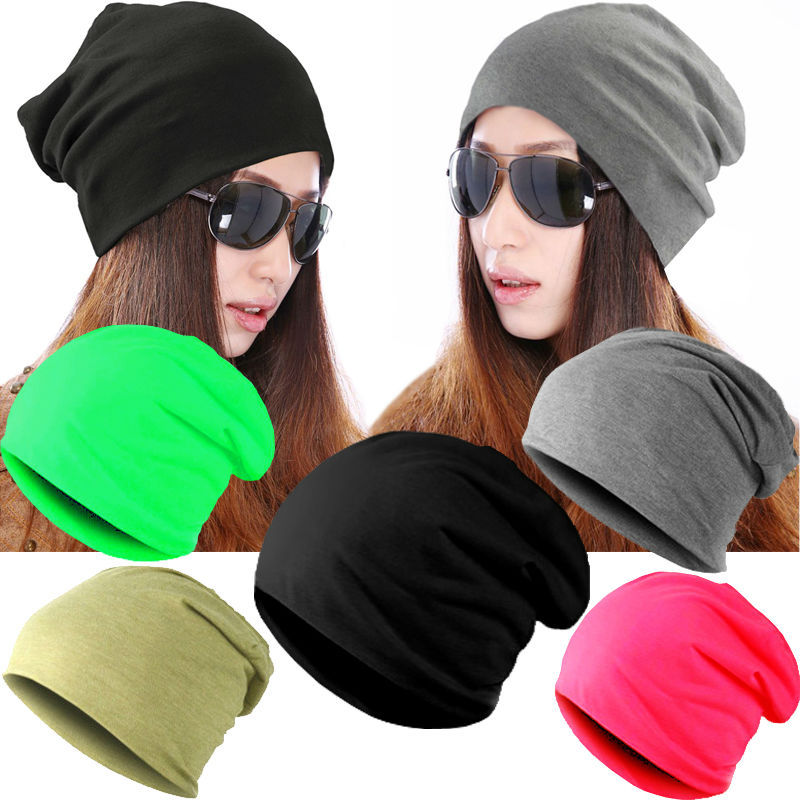 Unisex Slouch Beanie Hat Knitted Long Women Men cap suitable for all head  sizes-in Skullies   Beanies from Apparel Accessories on Aliexpress.com  acd2abb9fbc