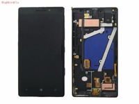 Highbirdfly For Microsoft Lumia 930 RM 1045 Lcd Screen Display With Touch Screen Digitizer Glass Frame