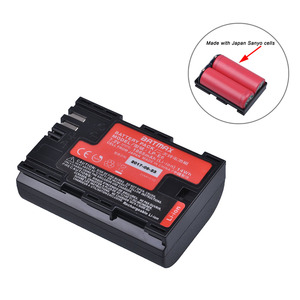 1pc High Real Capacity LP-E6 LP E6 LP-E6N Battery Japan Sanyo Cell for Canon EOS 6D 7D 5DS 5DSR 5D Mark II IV 5D 60D 60Da 70D(China)