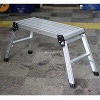 Trapez Stuhl Aluminium legierung Leichte Schritt Stühle 150kg Schritt Leitern Waschen Reinigung Auto Stuhl Bad Dusche Fuß Hocker
