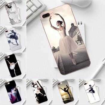 Luxury Hybrid Phone Case For iPhone X XS Max XR 4 4S 5 5C SE 6 6S 7 8 Plus Galaxy A3 A5 J1 J3 J5 J7 2017 Ballerina Ashley Rose image