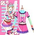 Love Live School Idol Project Minami Kotori Softball Baseball Uniform Dress Sportswear Outfit Cosplay Costumes