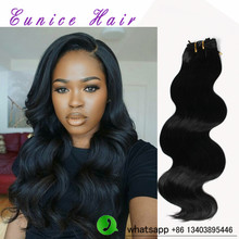Body Wave Synthetic Hair Extensions Heat resistant Hair Weft For Womens 18 20″Inch brazilian body wave crochet hair extensions