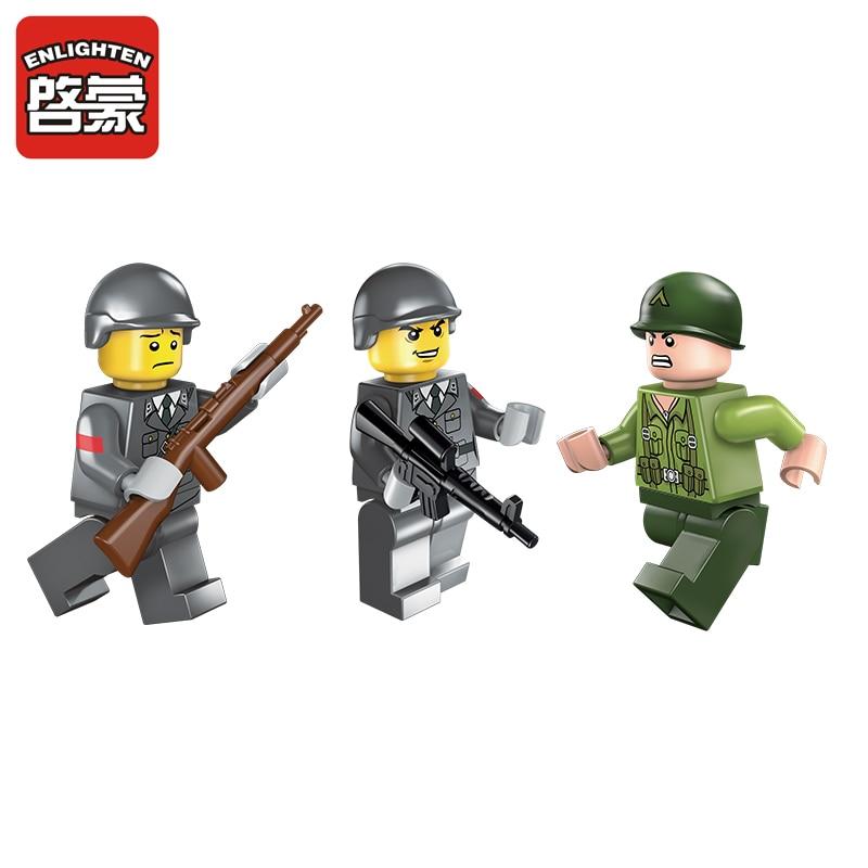 Prosvijetlite vojne obrazovne građevinske blokove igračke za djecu - Izgradnja igračke - Foto 4