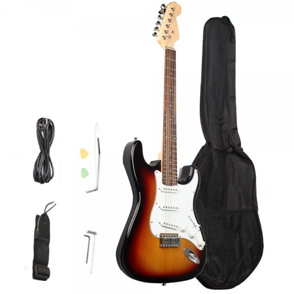 ST-01 Electric Guitar Basswood Fingerboard Sunset Color sunset in st tropez