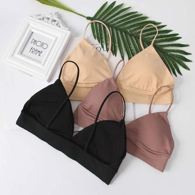 Tube Tops Lingerie Strapless Camisole Backless Bra