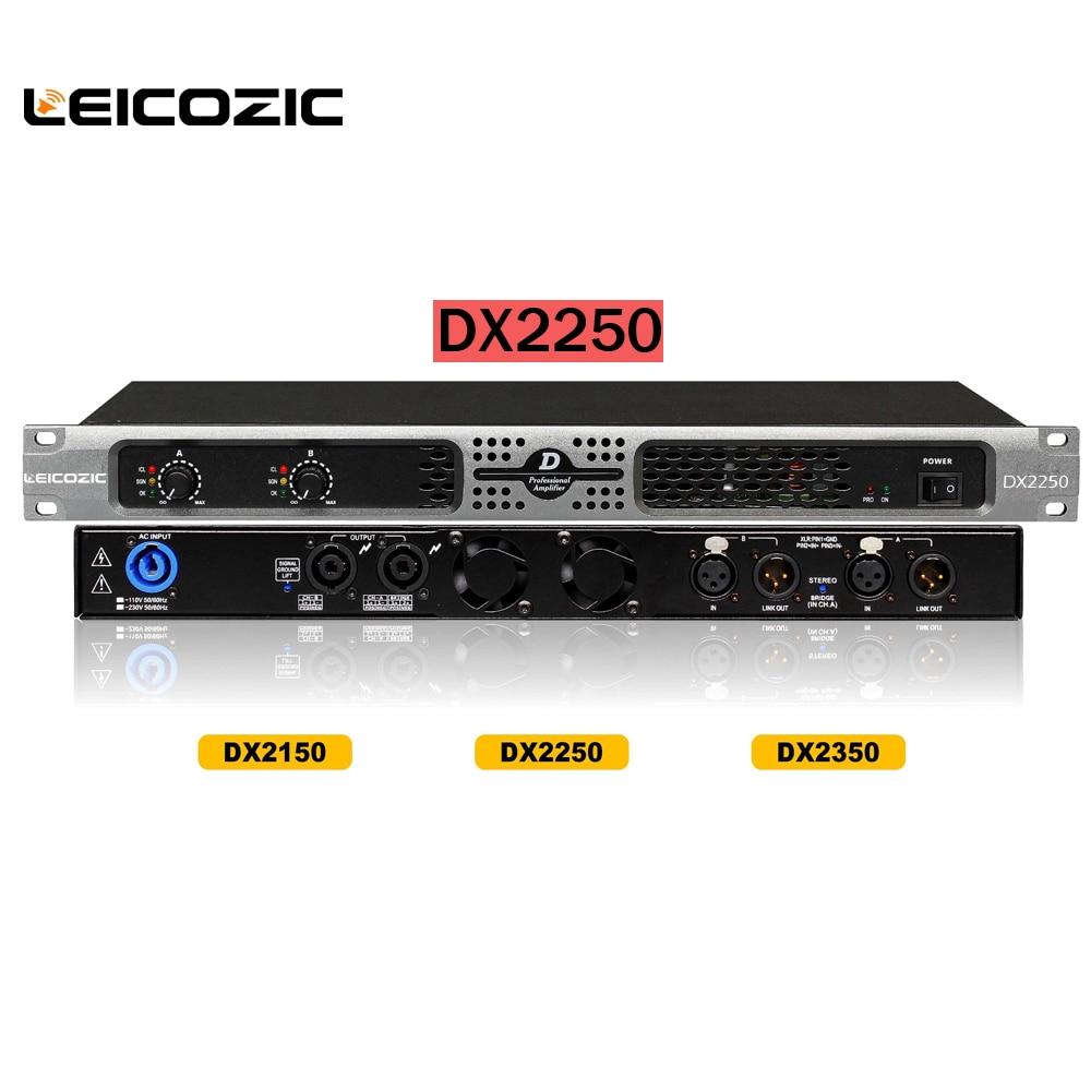 buy leicozic dx2250 400w amp rms class d amplifier 1u stage audio power. Black Bedroom Furniture Sets. Home Design Ideas