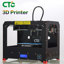 CTC Black 3D Printer - Dual Extruder - MK8 - Factory Direct Lowest Price- PLA