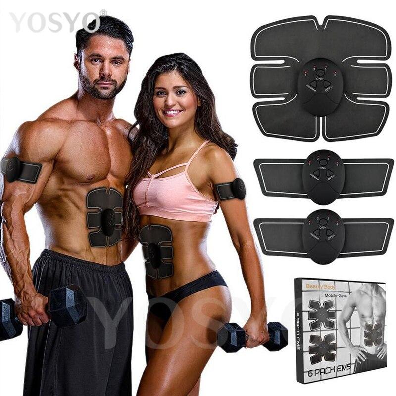 Smart EMS Impulsion Électrique Traitement Masseur Abdominale Muscle Stimulateur Exerciseur Dispositif Perte de Poids Minceur Formation Massage