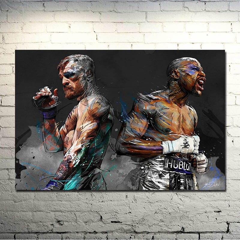 Seda POPIGIST-Conor McGregor UFC BOXEO de Motivación O Lona Poster ...