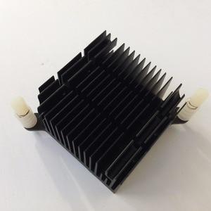 Image 4 - 2 pçs/lote 40x40x20 milímetros de Alumínio do Dissipador de Calor do radiador Do Dissipador de Calor para Chip eletrônico LEVOU RAM REFRIGERADOR de refrigeração