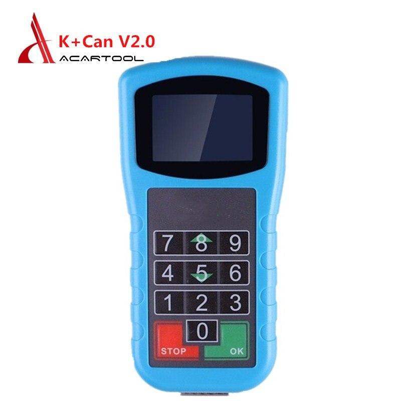 Super para vag K + CAN Plus 2.0/4.8 Diagnóstico/Quilometragem Correção/Leitor de Código Pin para V-W /Audi/Seat/Skoda Ferramenta de Diagnóstico De Automóveis