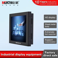 Chinese factory direct sales 15/12.1/10.4 inch lcd monitors brightness 350,Industrial lcd monitor,pc HDMI DVI screen monitor