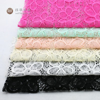 Jenny 2016 High Quality Elastic Lace Cloth Cloth Shirt Dress Handmade Diy Fabric Wedding Costumes