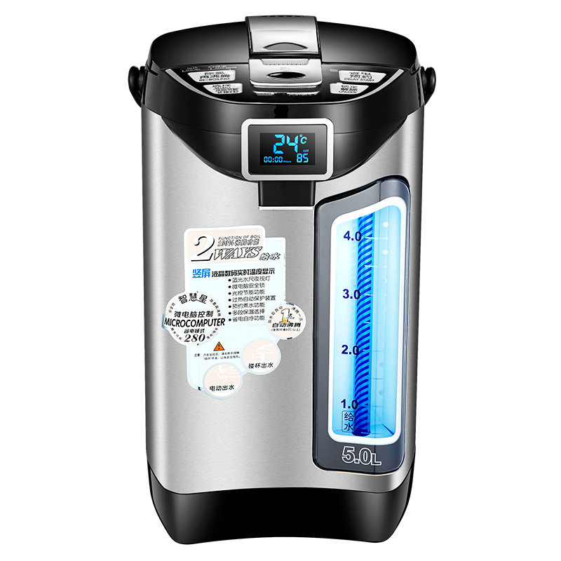 Electric Kettle Thermos 304 Stainless Steel Automatic Electric