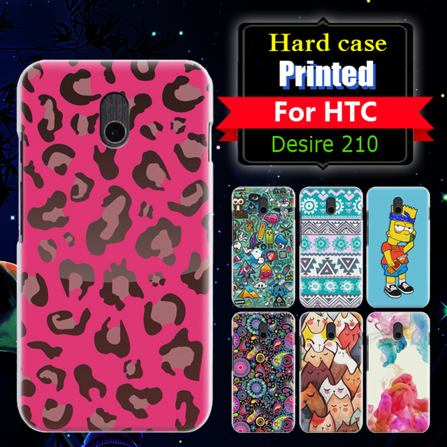 premium selection 68047 a4e56 US $9.88 |22 Style Fashion cartoon Printed Matte Plastic Hard Back Cover  Case For HTC Desire 210 Mobile Phone Covers in stock on Aliexpress.com | ...
