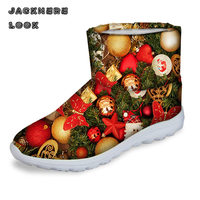 JACKHERELOOK Fashion Winter Waterproof Women Snow Boots Candy Multi Color Short Australia Ladies Warm Ankle Shoes