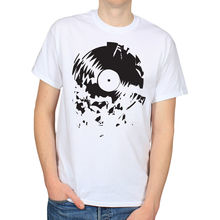 Broken record men's t-shirt