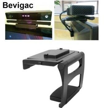 цена на Bevigac Sensor Camera TV Clip Monitor Mount Dock Stand Holder Bracket For Microsoft Xbox X box One 1 Kinect 2.0 Accessories