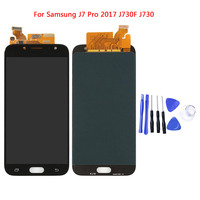LCDs For Samsung Galaxy J7 Pro 2017 J730 J730F LCD Display With Touch Screen Digitizer Assembly