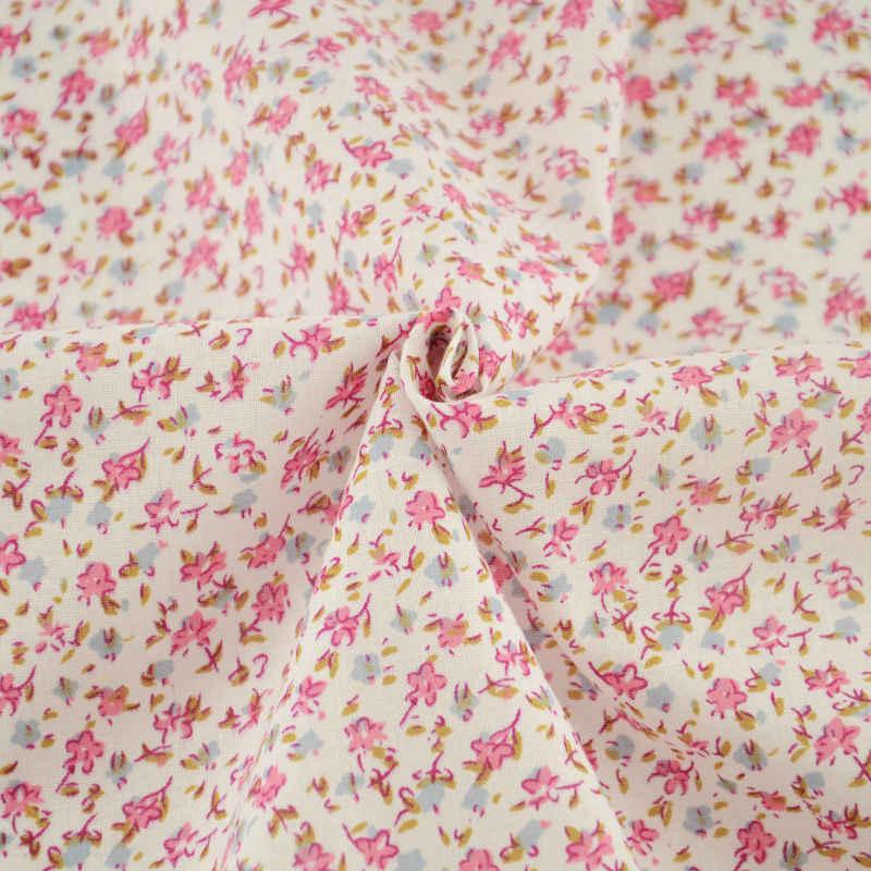 100% Katoen Mooie Bloemen Ontwerpen Patchwork Roze Thuis Textiel Vlakte Scrapbooking Decoratie Tela Naaien Tecido Art Werk