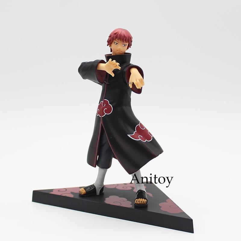 2pcs/set Naruto Shippuden Kakashi Hatake y Sasori PVC Action Figure Model Toys 18cm KT3745