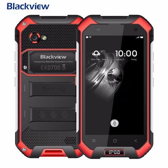 Galleria fotografica Blackview bv6000 <font><b>smartphone</b></font> 4g lte wodoodporna ip68 4.7