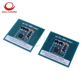5 sets CT201688 Black Cartridge C5000D Japan Version Toner Chip Laser Printer cartridge chip Reset for Xerox DocuPrint C5000d