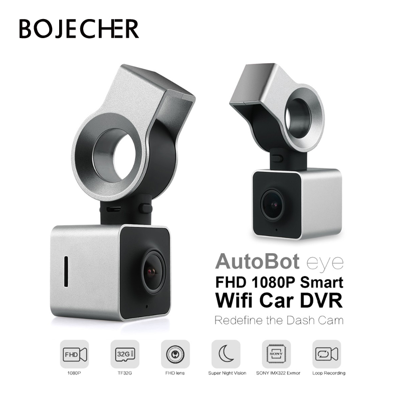 AutoBot Eye Full HD 1080P Smart Wifi Car DVR Novatek 96655 Auto Camera Dashcam Video Recorder G-Sensor WDR Night Vision цена