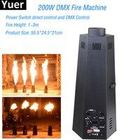 Профессиональное оборудование DJ 200 Вт Шесть углу DMX Пожарная машина этапе пожарная фейерверк машина, огнеметы Дискотека Сценический эффект