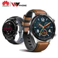Zegarek huawei GT inteligentny zegarek wodoodporny telefon połączeń wsparcie gps tętno Tracker dla android ios