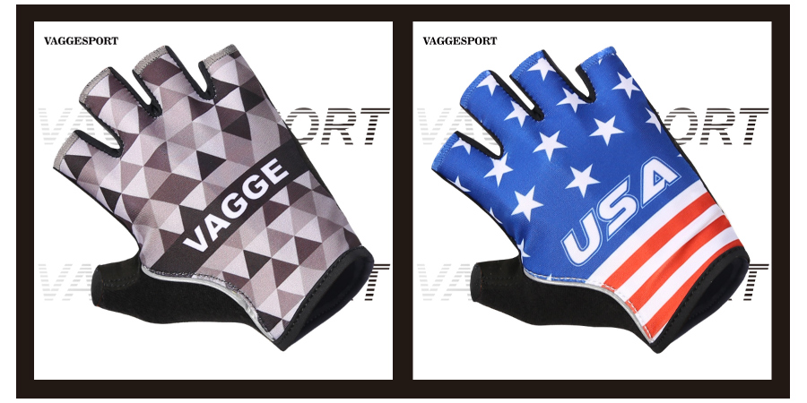 2.Half finger cycling gloves