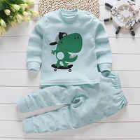 2019 herbst Neue Baby Kleidung Set Cartoon Baumwolle Baby Jungen Kleidung Mädchen Anzug Set 0-3 Jahr Baby Kleidung