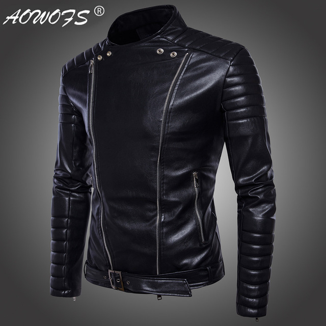 High fashion leather jackets men 40