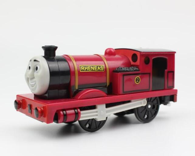 Rheneas r trens elétricos motorizados trem conjunto compatível com brio train track railway motor locomotiva presente para crianças
