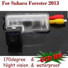 Leds ccd posterior del coche cámara de reserva de aparcamiento sensor para subaru forester 2013/brz sony hd