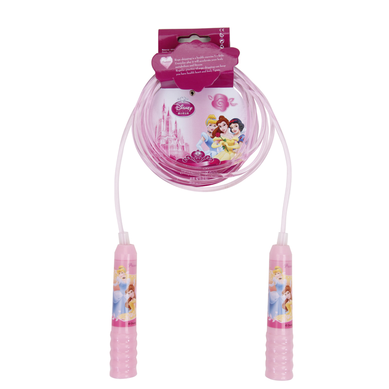 New <font><b>Handle</b></font> <font><b>Skipping</b></font> <font><b>Rope</b></font> Pink Girl Jump <font><b>Rope</b></font> Children Fun Outdoor Sports kid Fitness corde a sauter enfant pink DBA10688-D image