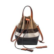 winter Brand Women Messenger Bag Crossbody Bag tassel Shoulder Bags Female Designer Handbags Ladies Bucket bags Bolsas Feminina