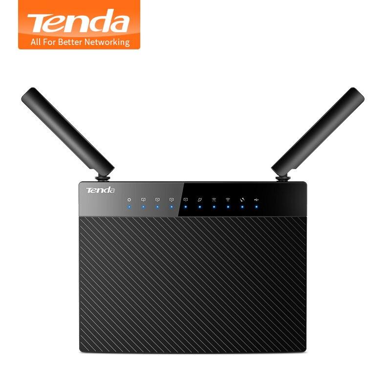 Prix pour Tenda ac9 1200 m smart double-bande 802.11ac 2.4g/5 ghz gigabit sans fil wifi routeur répéteur, Broadcom Puce, Multi-langue Firmware