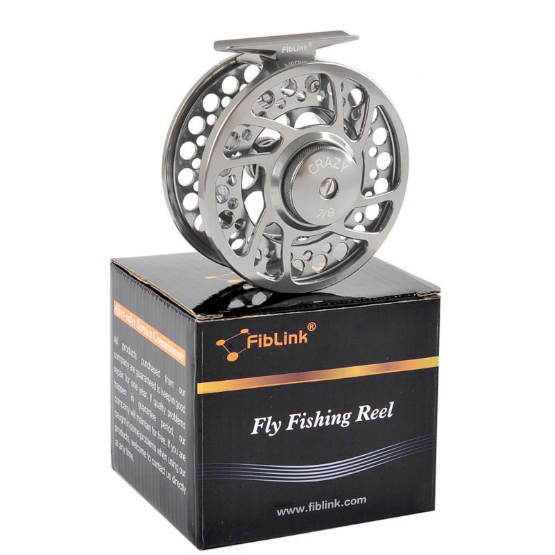 Fiblink 3 4 5 6 7 8 WT Fly Fishing Reel 2 1 BB High Quality Fishing Equipment CNC Machine Aluminum Alloy Spool Left Right Handed in Fishing Reels from Sports Entertainment