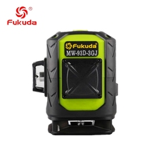 Fukuda rotary laser level 360 12 lines 3D green beam laser leveler Self-Leveling Horizontal Vertical Cross laser line цены онлайн