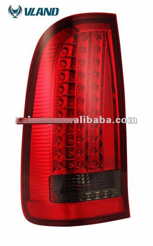 Free shipping vland Car styling for vigo taillight 2008 2014 LED tail light vigo tail lamp rear light