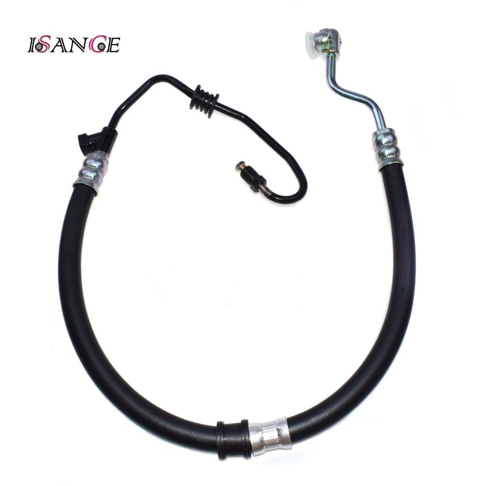 ISANCE Engine Power Steering Pressure Hose Pipe For Honda Accord DX EX LX SE 2.3L L4 1998-2002 OEM# 53713-S84-A04 / 53713S84A04