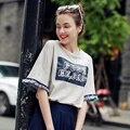 New Arrival Fashion Summer Women T-Shirt Short Sleeve Harajuku Loose Top Tees Plus Size Women T-Shirt